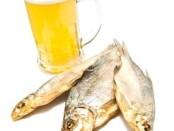 Сушеная рыба и пиво