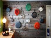 Хранение кастрюль и сковородок