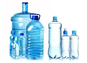 Различные пластмассовые бутылки