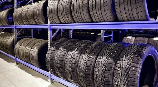 Хранение колес в специализированном месте