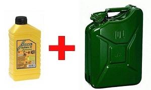 Масло и бензин