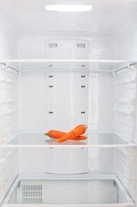 Морковь в холодильнике