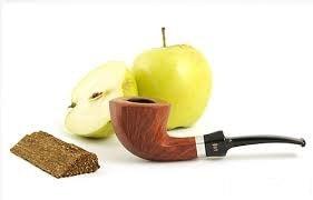 Яблоко, табак и трубка