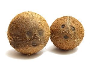 Целые кокосы